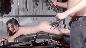Brutal sub blowjobs slave sex of play piercing...