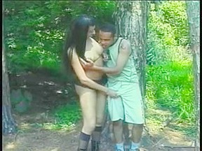 Extreme pounding in the forest...