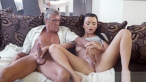 Sexy old couple forest what would you choose...