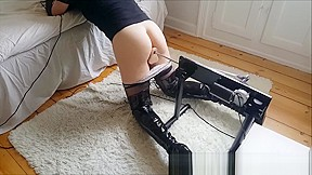 Cutecross sissy and sexy thigh high boots fucked...