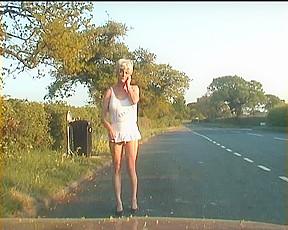 Walking road...