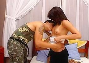 Small tittied hard...