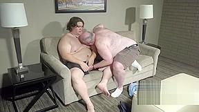 Burly chub and sexy breaking in...