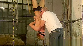 Young homosexual guy by dominant geezer...