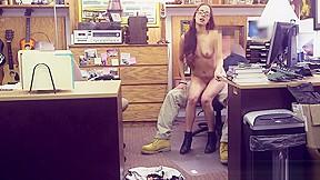 Teen hd brunette riding bed amateur bubble...