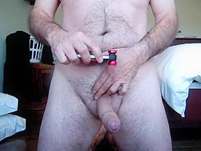 Daddy selfshot shooting ass and cock pics...