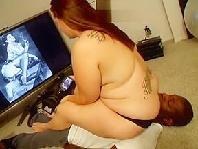 Chest sitting ass...