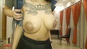 Quick asian boobs...