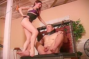 way of taking manhood femdom ballbusting...