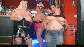Huge boobs bar...