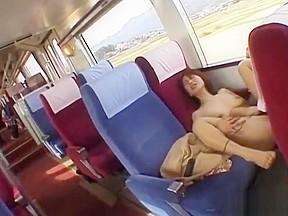Jav risky train busty cheating wife subtitled...