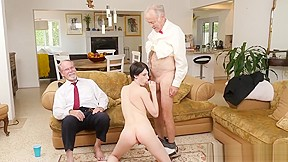 3 old and young and handjob cumshot young...