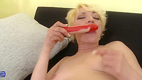 Dirty aunty dreaming of young hard cock...