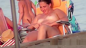 Amateur beach games camera...