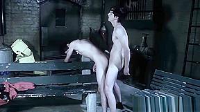 Vampire take his hard dick into sex slaves...