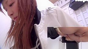 Japanese teens peeing...