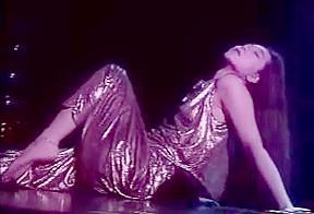 Geisha shows a stripper stage...