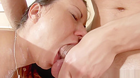 Real for hot milf with young man and...