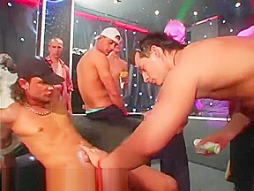 Wrestling party gay our hip hop soiree dudes...