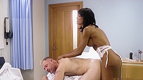 Nurse fucks patient...