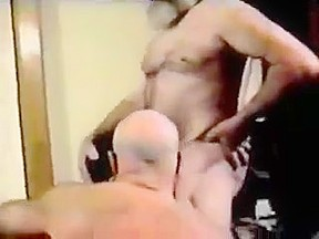 Men get pleasured by younger cub...