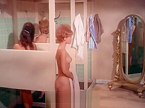 Dirty babes taking hot shower 1960...