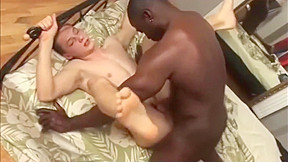 Gay white dude hard...