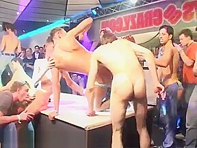 Gay group sex video the hormone charged horde...