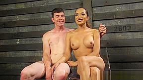 Breasty lalin girl bdsm ts rimmed by tiedup...