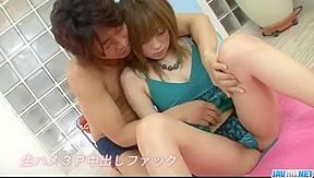 Yuu mizuki in rough threesome...
