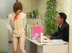 Pantieless secretary by snahbrandy...