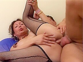 Tranny in a engulf and slam session...
