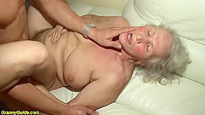 Horny 76 granny gives a wikd tit extreme...