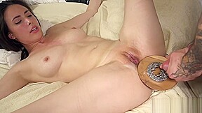 Babe gets restrained by maledom before...
