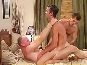 Gay hardcore threesome...