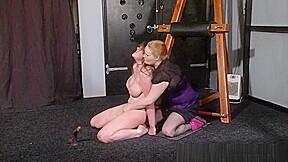 Youporn submission of kicked slavegirl in lezdom punishments...