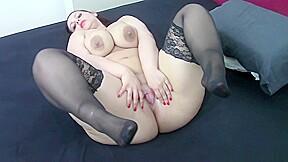 Pawg samanthas bigbutt black stockings tease...