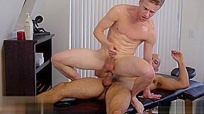Large 10 pounder gay ass massage...