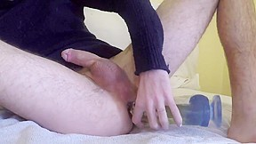 Super massive cumshot with by asss squirt...
