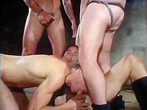 Brutal orgy in old building porn at thisvid...