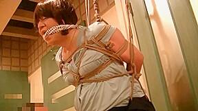 Fujiko sm bondage photo session at hotel...