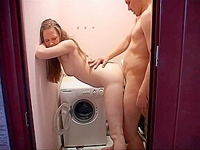 Mosaic voyeur of amateur teen sex massage 01...