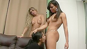Spiting and mouth fucking slave girl fefe...
