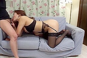 Asian Babe Gets Anal Fucked