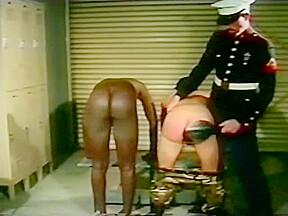 Gay army spanking...