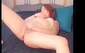 Hot ts selfsucking on cam...