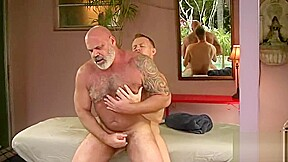 Got blasted by a young muscle chaser hot...