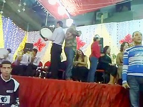 Arab dance...
