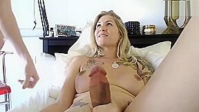 Hot blonde milf big cock boyfriend...
