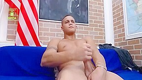 Twink cum 3 times raw all over his...